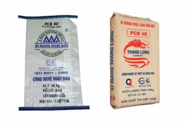 Các loại xi măng phổ biến trên thị trường