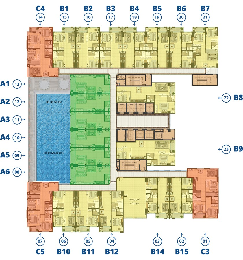 dự án căn hộ Biconsi Tower
