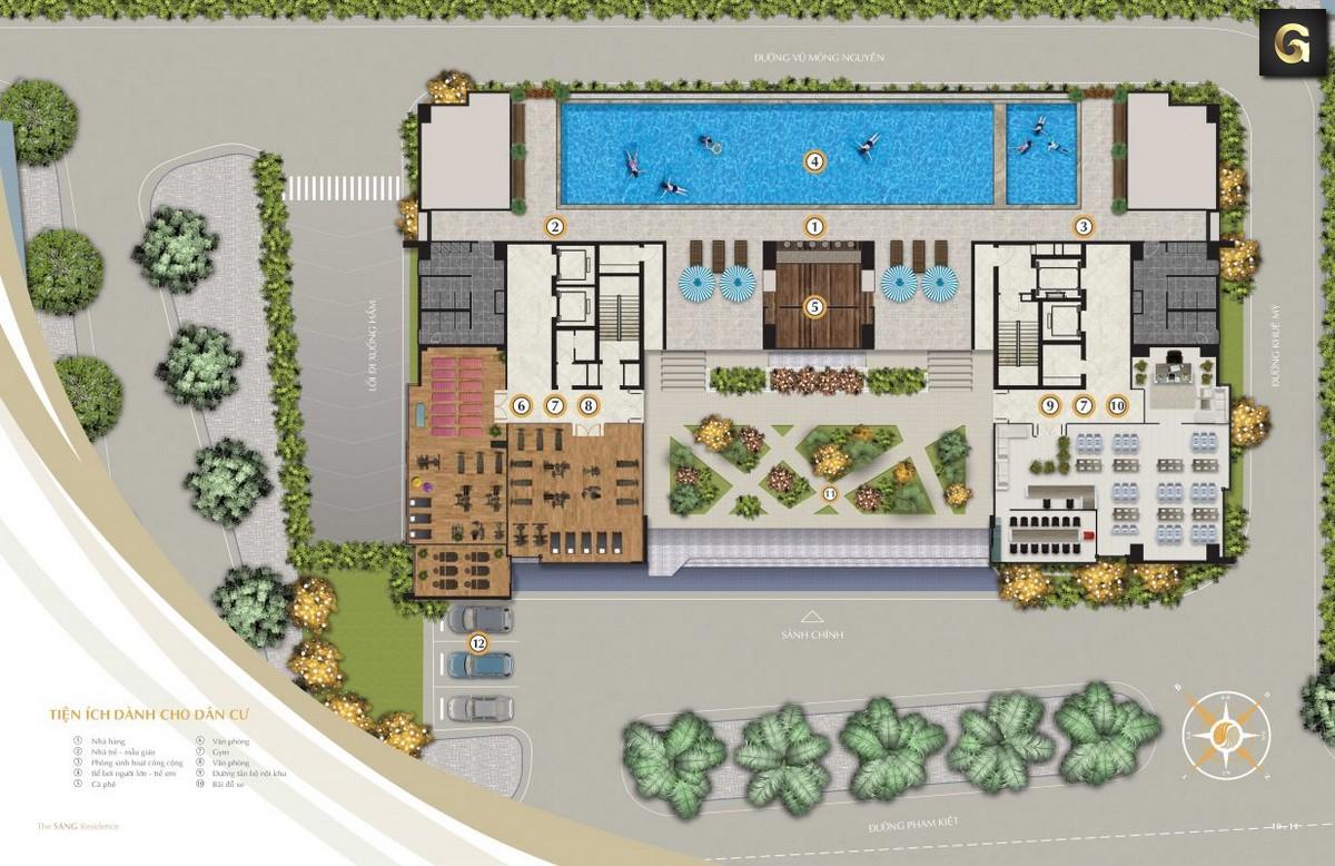 dự án The Sang Residence Đà Nẵng