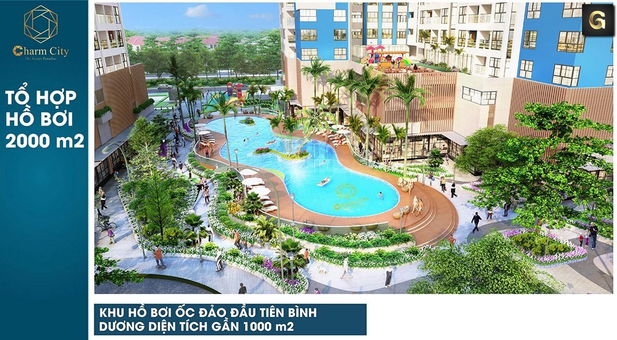 dự án căn hộ Charm City Bình Dương