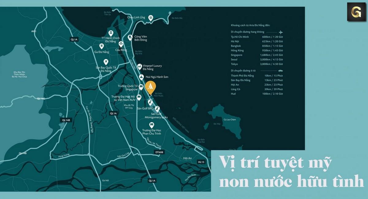 dự án căn hộ Aria Đà Nẵng Hotel Resort