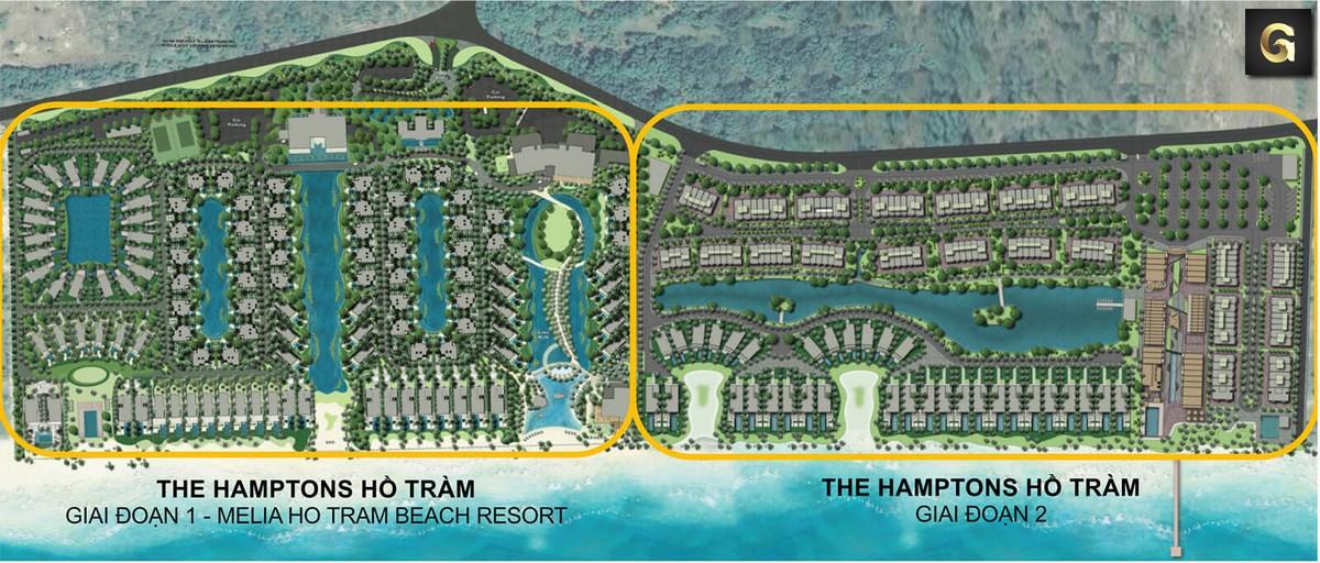 dự án The Hamptons Hồ Tràm