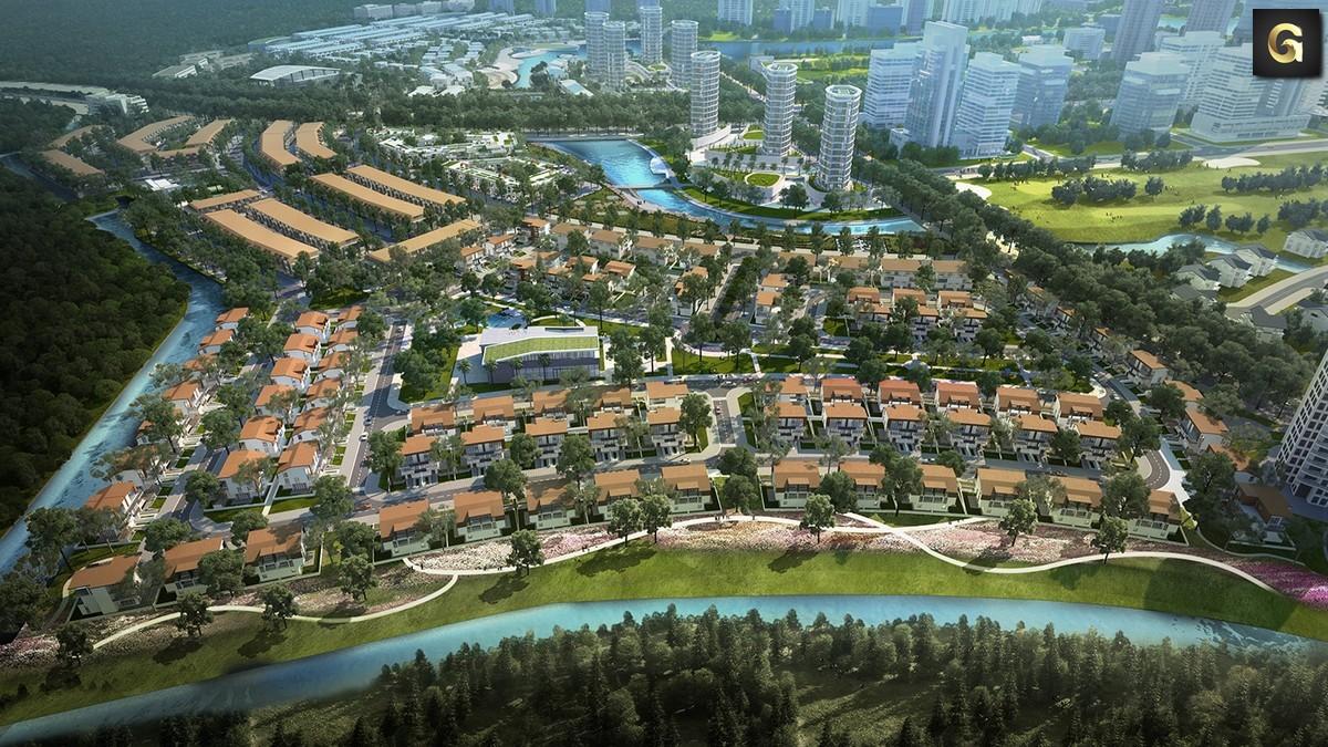 dự án Hồ Gươm Xanh Thuận An Bình Dương
