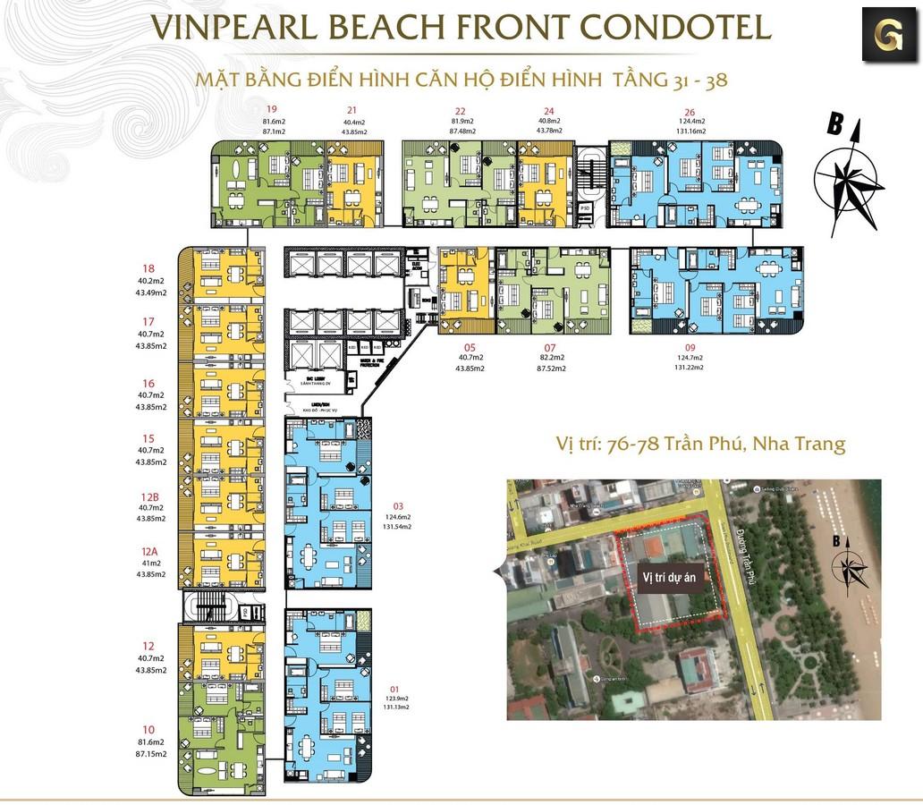 Vì sao khách hàng lựa chọn Khu chung cư cao cấp Vinpearl Beach Front Condotel?