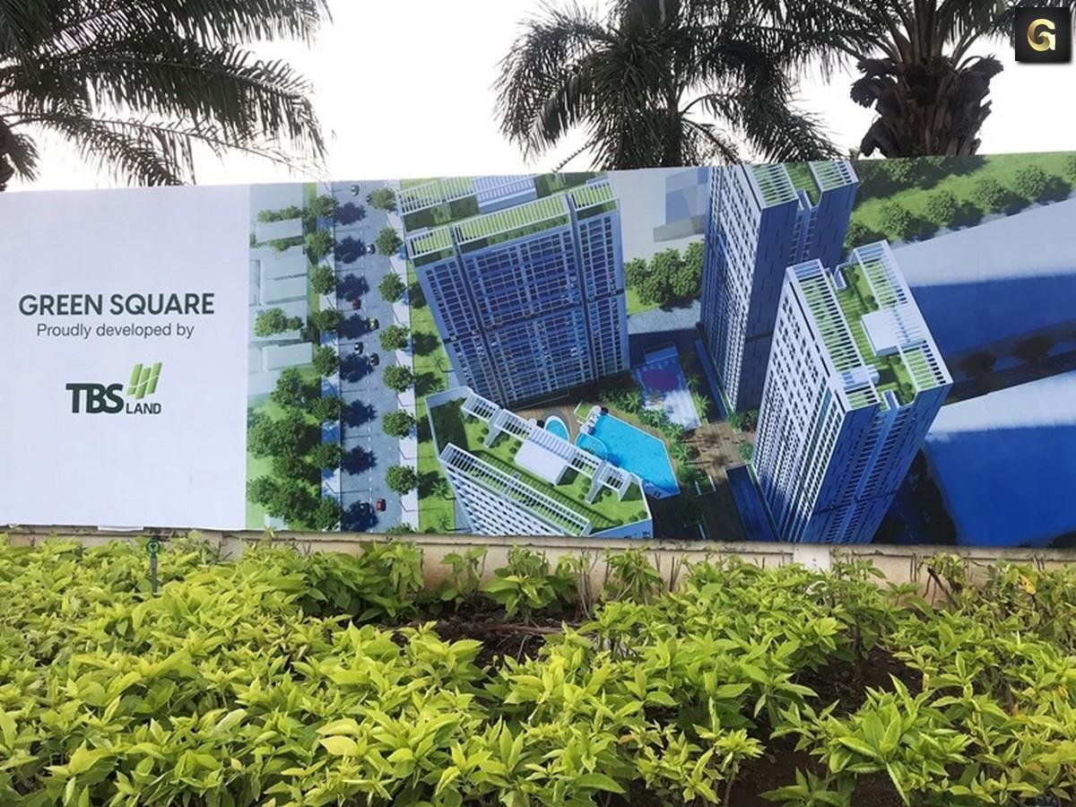 Dự án Green Square Dĩ An Bình Dương