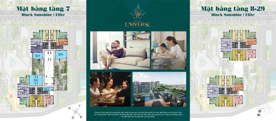 Thiết kế Dự án căn hộ Biên Hòa Universe Complex có tầm nhìn thoáng ra sông